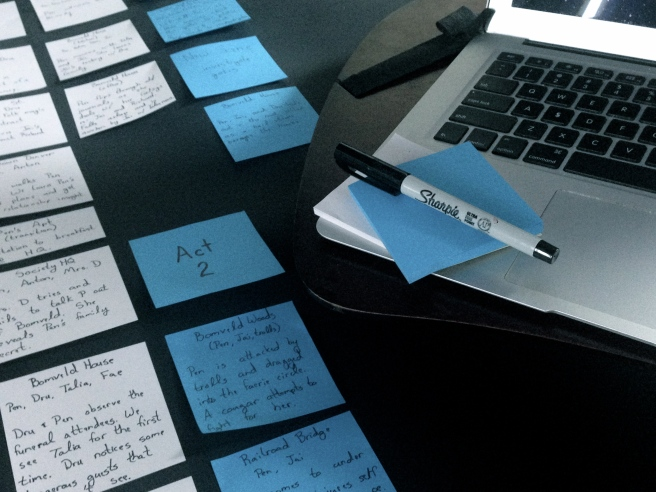 Plotting and Post-Its