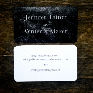 Writer Business Cards