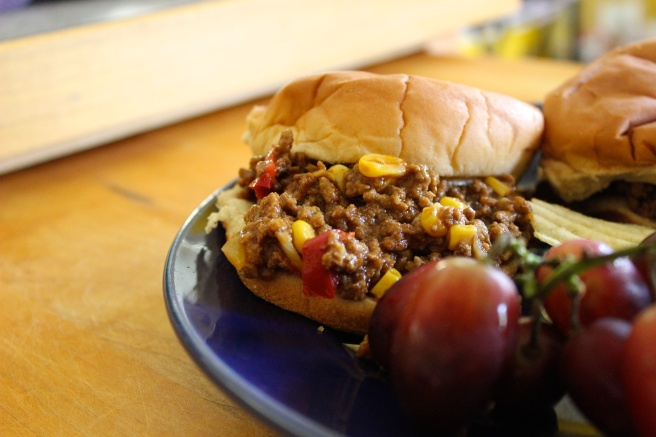 Freezable Slow Cooker Sloppy Joes